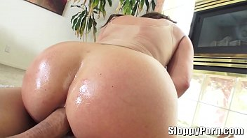 pov view rear Big booty latin milf in tight jeans