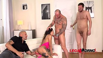 dick small big brunette Two drunk guys abused