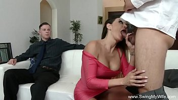 wifes watches sister shag my wife Asian sluts gagging throating