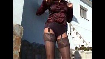 pov heels boots shiny blow stockings outdoor hand hd dressed pantyhose Young outdoor rape in girl on the bed