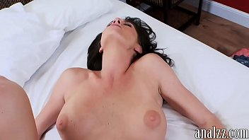 black thick busty anal Hardcore sexing on the glass table