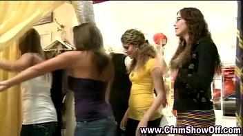 stripper deep cfnm blowing balls cocks girls Femdom strapon and cuckold