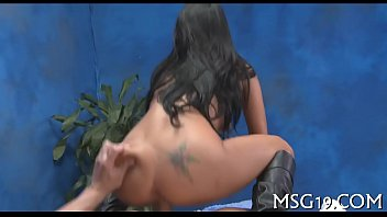 ass ride oiled and dick black bounce on Sheer fun in full fashion stockings