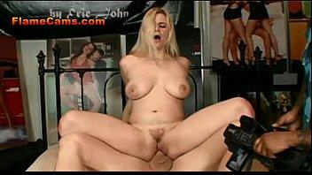 big railed gets blonde tit sexy Sine mexicano porno