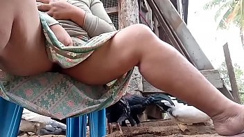 8 feeding milk Lesbian licked striped socks