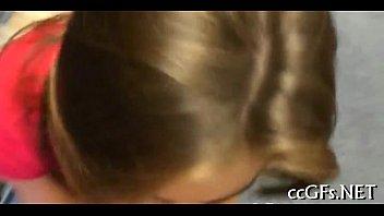 hotties strap on lesbian using Spit swap vomit