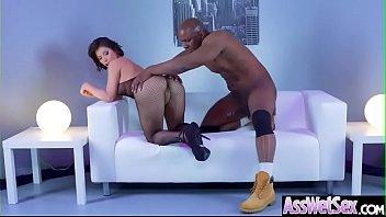 girl finger ass Horny latina jamie shows off her big round ass as black