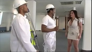 covelli hot takes cougar two bbcs jenna Busty milf getting her huge tits rubbed pussy licked by 2 guys in the office