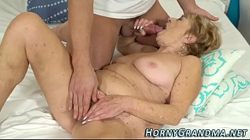 hot asshole granny Clothed glamour blonde has sex with her boss