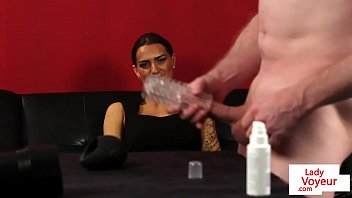 femdom rus captions on Mature sexslave anal dilatation video