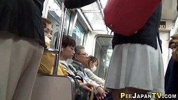 crowd pissing2 peeing Japanese teavger fuck