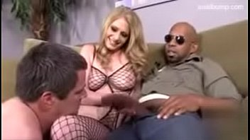 ray blacked2 allie fucked Double penetration in front of dad