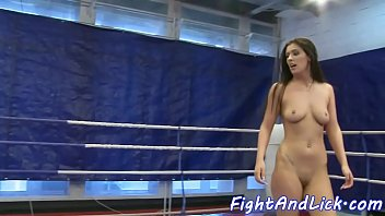 spanking wrestling and Amber rose cum tribute
