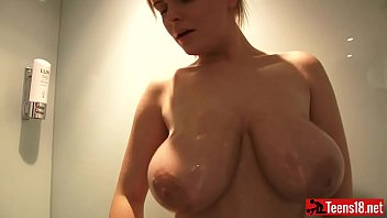 shower forced take to Madelyn monroe with trans