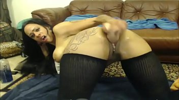 you breaks with up she Teen fuck on couch
