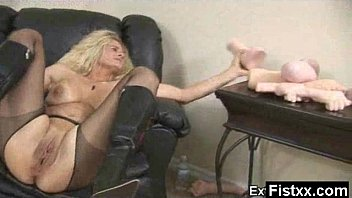 fist lady time fuck Busty tara lynn foxx gets her pussy pounded