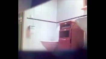hidden cam taking babe a shower watches Curuzu cuatia video la petera full porn