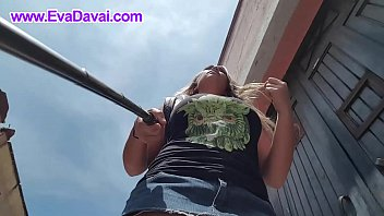 bra on no street the walking in Extreme cervix stretching videos 14 years4