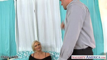 unaware he handjob wife as gets Japanese pffice lady