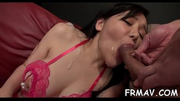 cum lovers japanese 2 sexy Adrianna busty brunette playing with her boobs and fingering