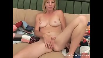 milf blonde shy Hunk forced to strip