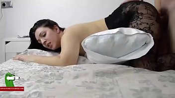 films black brunette strip First time forced wife to cry from anal