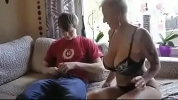 while fucks moms husband sleeps son Petite old man