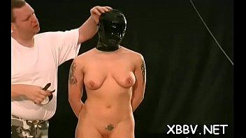 in darryl bondage hannah Pretty amateur blonde using her dildo