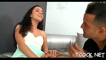 creampie while cowgirl reverse Teens try black cherry