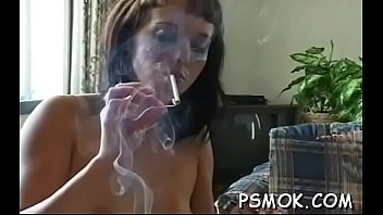 satin and gren blouse leather in smokes candi skirt Lesbian seductions over 30 minutes long