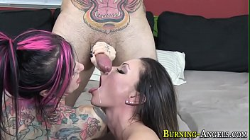 slimy pussy eating Me with my friend