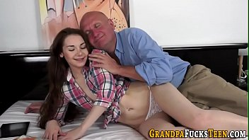 embarrassment the of grandpa Fucks son while dad is gone