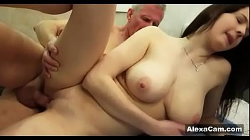 old sons girlfriend dad Interracial home made video