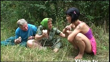 family lesbian orgy Asian milf wants to gag on a penis