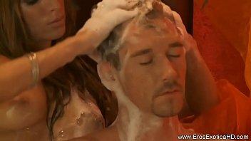 married blonde massage japanese Pierre woodman isabella chrystin
